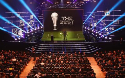 Gli abiti di Arrigo sul palco di The Best Fifa Football Awards 2019