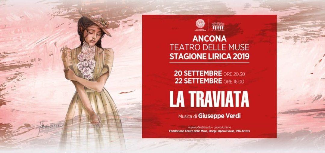 La grande Opera al Teatro delle Muse con Traviata.