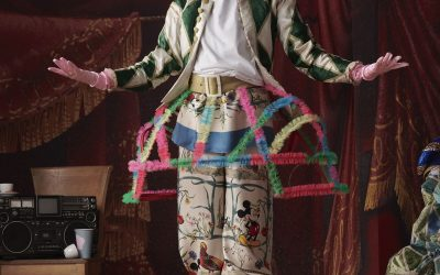 """ELLE MAGAZINE                      """" Trova gli errori in queste foto d'Autore"""".  Speciale Elle per Gucci."""