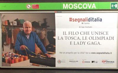 SEGNALI D'ITALIA.                    il filo che unisce la Tosca, le Olimpiadi e Lady Gaga
